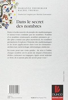 Livres Couvertures de Dans le secret des nombres