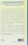 Livres Couvertures de Franc-Maçonnerie et Kabbale - Livret 16