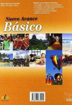 Livres Couvertures de Nuevo Avance Basico Student Book + CD A1+A2: Libro Del Alumno Basico + CD (A1 + A2 in One Volume)