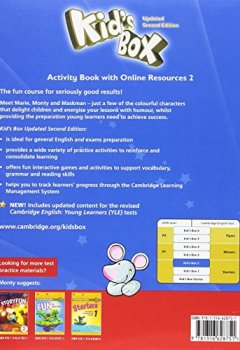 Livres Couvertures de Kid's Box Level 2 Activity Book with Online Resources British English