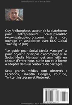 Livres Couvertures de Le guide du Social Media Manager: Affirmez votre présence sur Internet