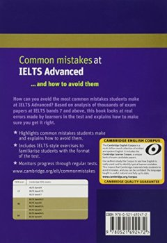 Livres Couvertures de Common Mistakes at IELTS Advanced: And How to Avoid Them