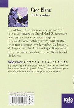Livres Couvertures de Croc-Blanc