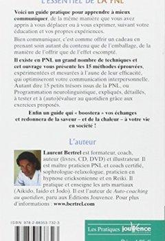 Livres Couvertures de L'essentiel de la PNL : 15 Techniques pour mieux communiquer