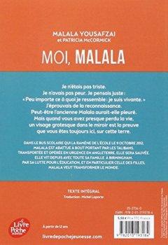 Livres Couvertures de Moi, Malala
