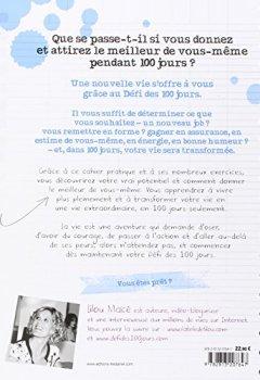 Livres Couvertures de Le défi des 100 jours! : Cahier d'exercices pour une vie extraordinaire
