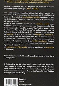 Livres Couvertures de Insatiable T02 de la trilogie Thoughtless
