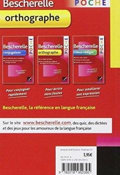 Livres Couvertures de Bescherelle poche Orthographe: L'essentiel de l'orthographe française