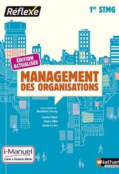 Livres Couvertures de Management des organisations 1re STMG