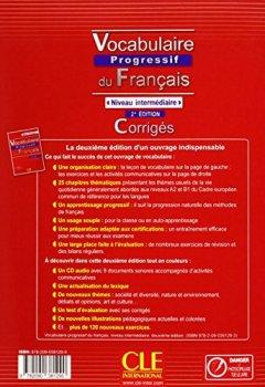 Telecharger Vocabulaire Progressif Du Francais Niveau