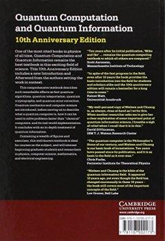 Livres Couvertures de Quantum Computation and Quantum Information: 10th Anniversary Edition.