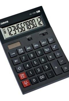 Livres Couvertures de Canon AS-1200 Calculatrice de bureau à 12 chiffres