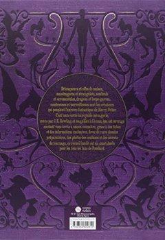 Livres Couvertures de Harry Potter : Le Grand Livre des créatures