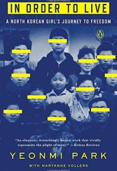 Buchdeckel von In Order to Live: A North Korean Girl's Journey to Freedom