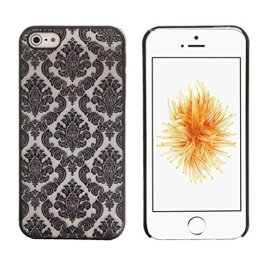 GBSELL-Carved-Damask-Vintage-Pattern-Matte-Hard-Case-Cover-For-IPhone-5-5S-SE