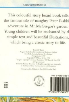 Livres Couvertures de The Tale of Peter Rabbit Story Board Book