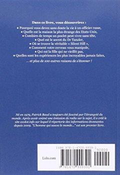 Livres Couvertures de L'Homme Qui Sauva Le Monde Et Autres Sources D'Étonnement