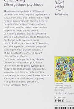 Livres Couvertures de L'énergétique psychique