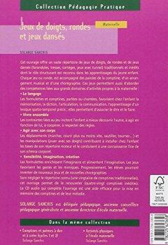 Livres Couvertures de Jeux de doigts, rondes et jeux dansés - Tome 1 (+ CD audio)