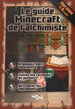 Livres Couvertures de Le guide Minecraft de l'alchimiste - version 1.9