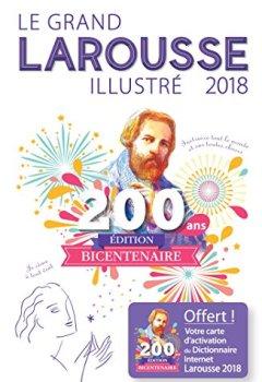 Livres Couvertures de Le grand Larousse illustré 2018