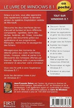 Livres Couvertures de Le livre de Windows 8.1 Update en Poche