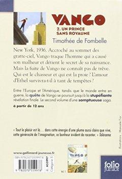 Livres Couvertures de Vango (Tome 2-Un prince sans royaume)
