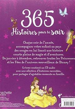 Livres Couvertures de Princesses et Fées , 365 HISTOIRES POUR LE SOIR + CD