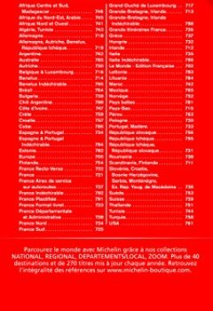 Livres Couvertures de Carte Maroc Michelin