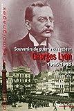 Souvenirs De Guerre Du Recteur Georges Lyon1914-1918