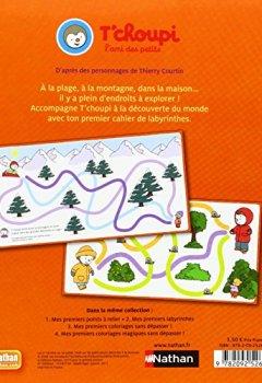 Livres Couvertures de T'choupi: Mes premiers labyrinthes