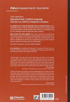 Livres Couvertures de Requiem pour l'espèce humaine : Faire face à la réalité du changement climatique