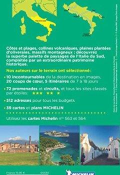 Livres Couvertures de Guide Vert Italie du Sud : Rome, excursions en Sicile Michelin