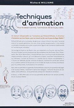 Livres Couvertures de Techniques d'animation : Pour le dessin animé, l'animation 3D et le jeu video (1DVD)