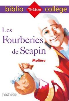 Livres Couvertures de Bibliocollège - Les Fourberies de Scapin, Molière