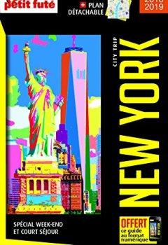 Livres Couvertures de Guide New York 2018 City trip Petit Futé