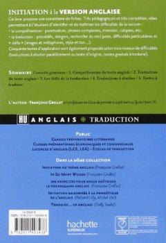 Livres Couvertures de Initiation à la version anglaise