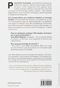 Livres Couvertures de Réduire au silence 100 maladies avec le régime Seignalet
