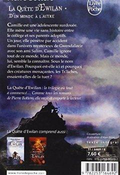 Livres Couvertures de D'un monde à l'autre (La Quête d'Ewilan, Tome 1)