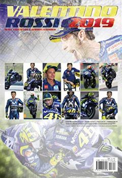 Livres Couvertures de Valentino Rossi 2019 Calendar
