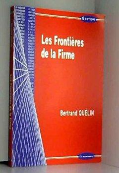 Livres Couvertures de Les Frontières de la Firme