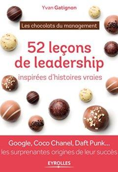 Livres Couvertures de 52 leçons de leadership inspirées d'histoires vraies : Les chocolats du management