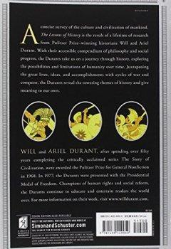 Livres Couvertures de The Lessons of History