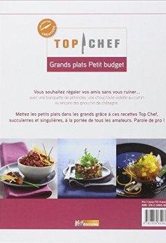 Livres Couvertures de Top Chef, Grands plats Petit budget