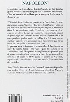 Livres Couvertures de Napoléon