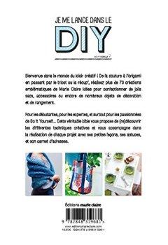 Livres Couvertures de Je me lance dans le DIY (Do it yourself) - Les plus belles créations Marie Claire Idées
