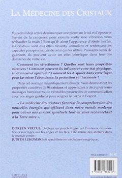 Livres Couvertures de La médecine des cristaux
