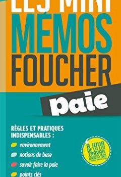 Livres Couvertures de les mini memos Foucher - Paie
