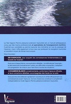 Livres Couvertures de Test Vagnon Permis Plaisance Extension Hauturiere 2015