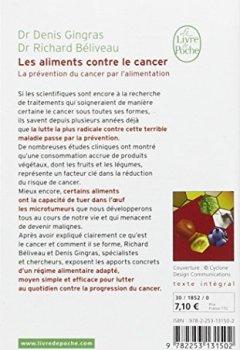 Livres Couvertures de Les aliments contre le cancer : La prévention du cancer par l'alimentation